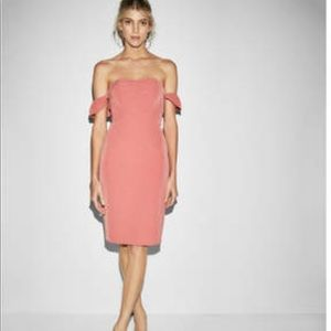 Express Off the Shoulders Dress